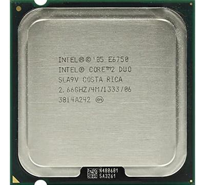Intel Core2 E6750